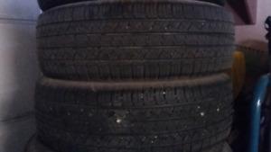 2 P225/65R17 Michelin Latitude Tour HP