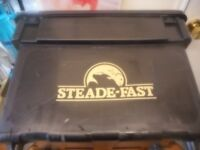 Steadfast Fishing box +bait boxes / with carry strap.