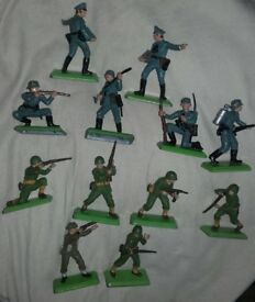 Deetail Toy soldiers, made for Britains Ltd 1971