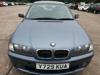 BMW 316I LOW MILES 80K ALLOYS