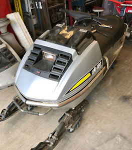 INTERESTED IN VINTAGE SNOWMOBILES