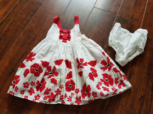 Size 3-6 months. Worn once at Easter