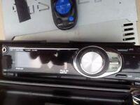 JVC car audio Unit USB AUX CD MP3 Remote.
