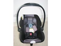 BB Ride Car Seat /Carrier in Very Good Condition - Backward looking