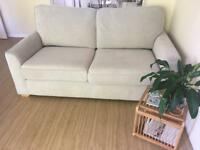 Like new DFS sofa - grey 2 seater