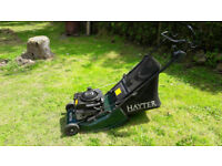 HAYTER 41 petrol mower self propelled roller
