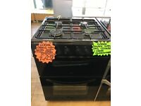 LOGIK 60CM BRAND NEW ALL GAS COOKER IN BLACK