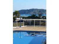 Last minute apartment w pool directly at seafront