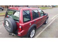 Land Rover Freelander, Auto, Fully Tint,1.8 diesal, 55Reg,96k miles,Red,BMW engine, MOT 4/18, £2200