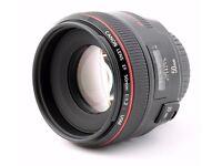 Canon 50mm f/1.2 Lens