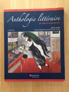 Anthologie littéraire de 1800 a aujourd'hui 3 ieme édition