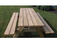 Picnic Table **HEAVY DUTY**