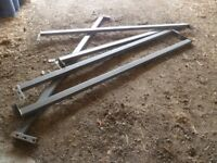 Heavy Duty Pallet Racking Supports Beams 2765mm or 2690mm lengths