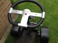Single seat golf buggie