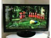 """47 """" LG LCD tv full HD USB port with built-in freeview."""