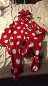 Adult Minnie Mouse onsie size L