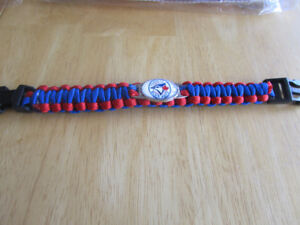 Toronto Blue Jays para-cord bracelet, $7, 2 for $10