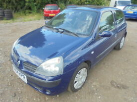 Renault Clio 1.2 16V EXTREME 3, LOW MILES (blue) 2004