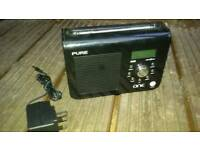 Pure dab radio fully working with power lead