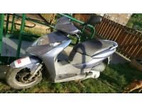 Honda dylan ses125cc 03 19k klm so bout 9000 miles converted