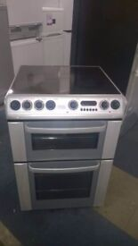 hotpoint 60cm ceramic fan assisted electric cooker