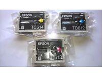 EPSON GENUINE ink cartridges