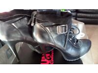 size 7 Leather ankle boot/shoes from Next, still in box