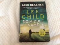 """Lee Child """"No Middle Name"""" Hardback"""