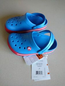 Size 1 (junior) Crocs new with tags