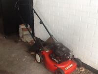 Briggs and Stratton lawnmower.