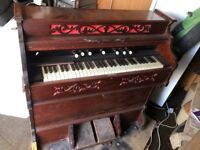 Wooden Organ, used but in good working order