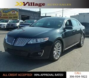 2010 Lincoln MKS Power Sunroof, Leather Interior, Back Up Cam...