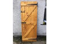 Solid Pine Cottage Door