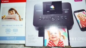 Canon Selphy C P 900 Printer & paper