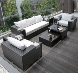 Clearance: Patio sectional set - 7pcs (LAST REMAINING)