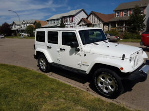 2014 Unlimited Jeep Wrangler Sahara
