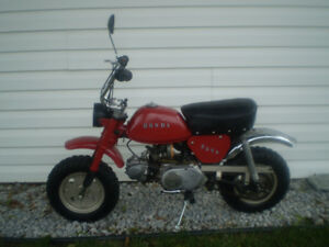 1977 HONDA Z50A MINI TRAIL BIKE