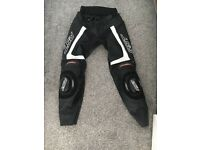 RST tractech EVO leather trousers size 30, very good condition