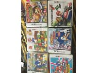 Nintendo 3DS with Cover + games [Pokemon + Mario]