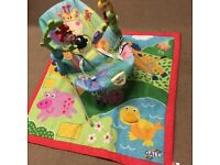 Baby bouncer and play mat