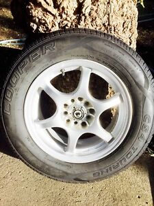 Alloy Rims with Tires 205/65/R15