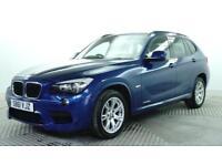 2012 BMW X1 XDRIVE20D M SPORT Diesel blue Automatic