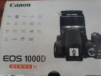 CANON EOS 1000D & 18-55 LENS KIT FOR SALE! Like New!
