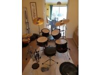 Drums- A nice gretsch drum kit, with loads of extras. £400