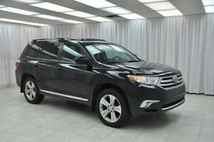 2013 Toyota Highlander 3.5L 4x4 6PASS SUV w/ BLUETOOTH, HEATED S