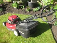 Mountfield SP550 Lawn mower Easy start Aluminum cutting deck great condtion