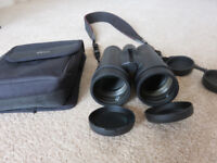 Binoculars: Viking Vistron 8x50 with lens caps, strap & case, ideal for birdwatching