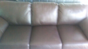 Brand new leather couch $550
