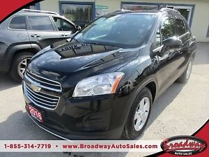 2016 Chevrolet Trax POWER EQUIPPED LT MODEL 5 PASSENGER 1.4L - E