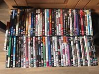 74 x DVDs